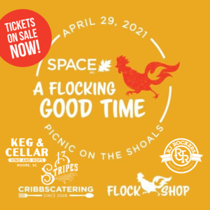 BUY TICKETS TODAY: April 29 Flocking Good Time