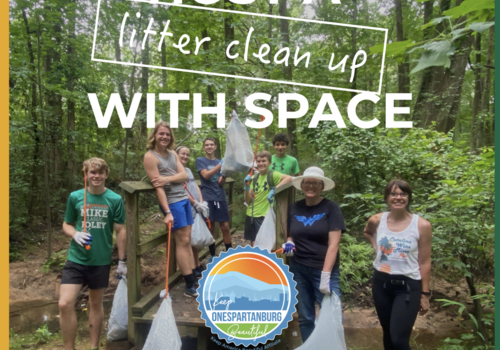 SPARTANBURG COMMUNITY HOSTS LITTER SWEEP TO CLEAN LOCAL GREEN SPACES
