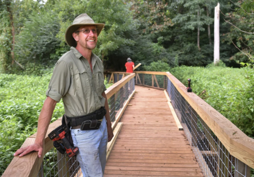 Cottonwood Trail boardwalk renovations complete, 30th anniversary fundraising continues.