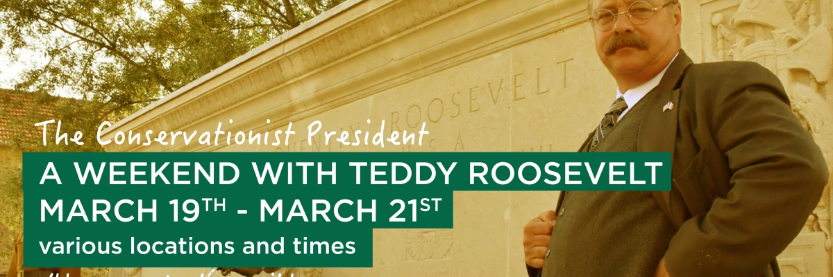 Teddy Roosevelt at the Spartanburg Community College Downtown Auditorium