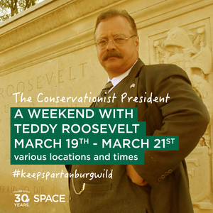 Family Day at Glendale Shoals with Teddy Roosevelt